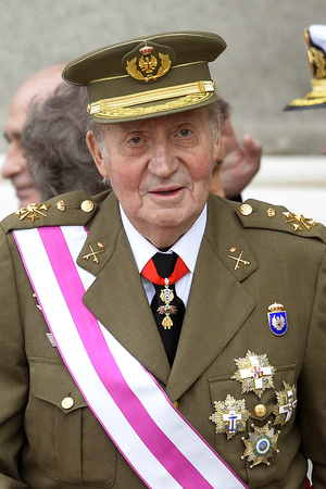 Spain's King Juan Carlos looks on during a ceremony at the royal palace in Madrid on Jan. 6. The royal family has come under increasing criticism for its spending habits as Spain has endured an economic crisis.