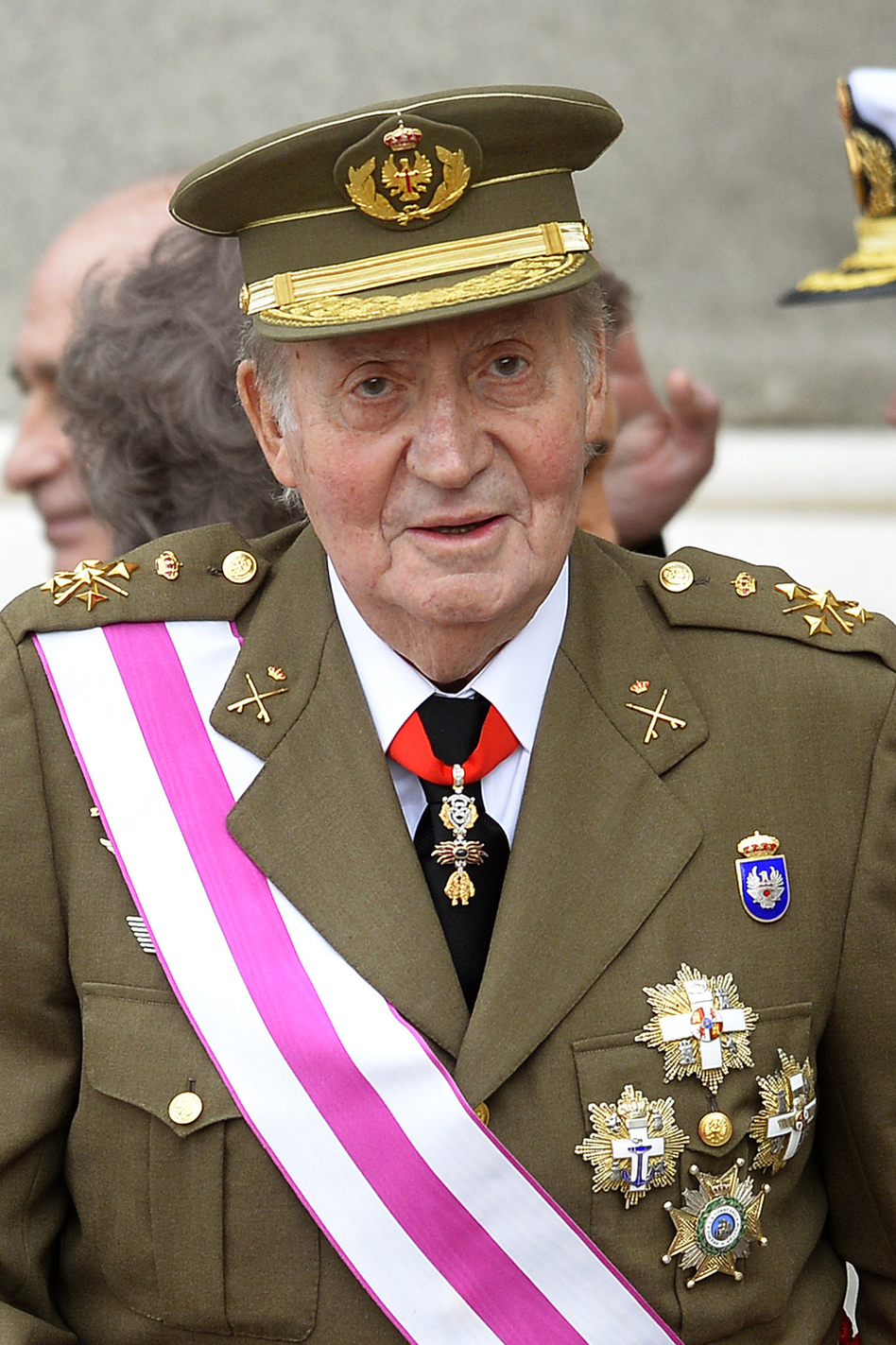 Spain's King Juan Carlos looks on during a ceremony at the royal palace in Madrid on Jan. 6. The royal family has come under increasing criticism for its spending habits as Spain has endured an economic crisis. (AFP/Getty Images)