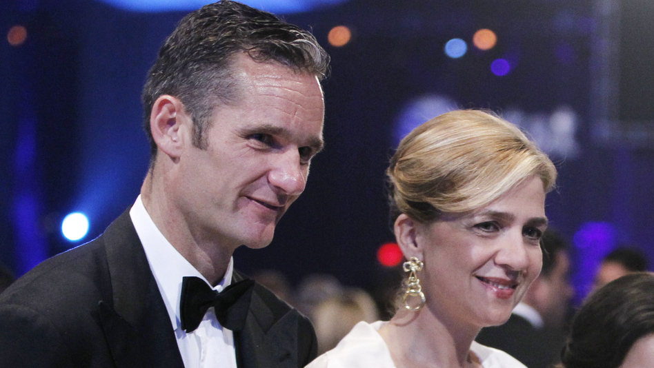Inaki Urdangarin, the husband of Spain's Princess Infanta Cristina, is accused of embezzling millions of dollars. The princess is scheduled to appear in court Saturday to face allegations of tax fraud. (AP)