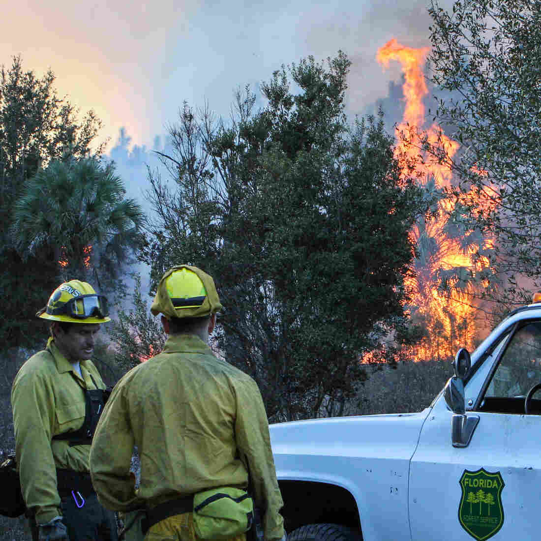 Technology Tracks Crews Through The Fog Of Wildfire