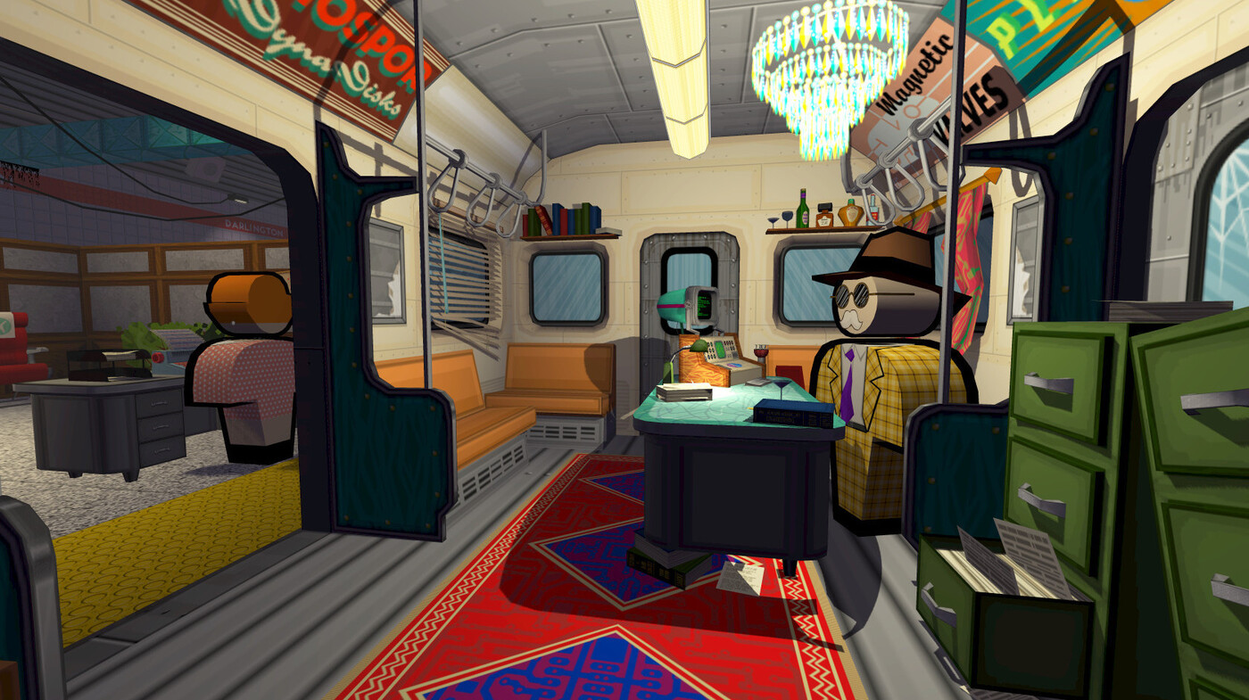 Jazzpunk: a spy game full of jokes blokes and cold war tropes : all