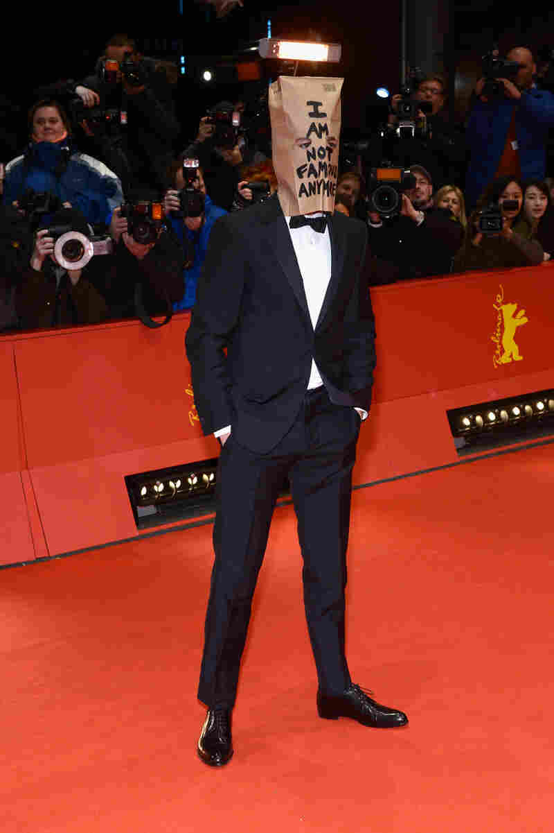 Shia LaBeouf attends the 'Nymphomaniac' premiere during 64th Berlinale International Film Festival Sunday.