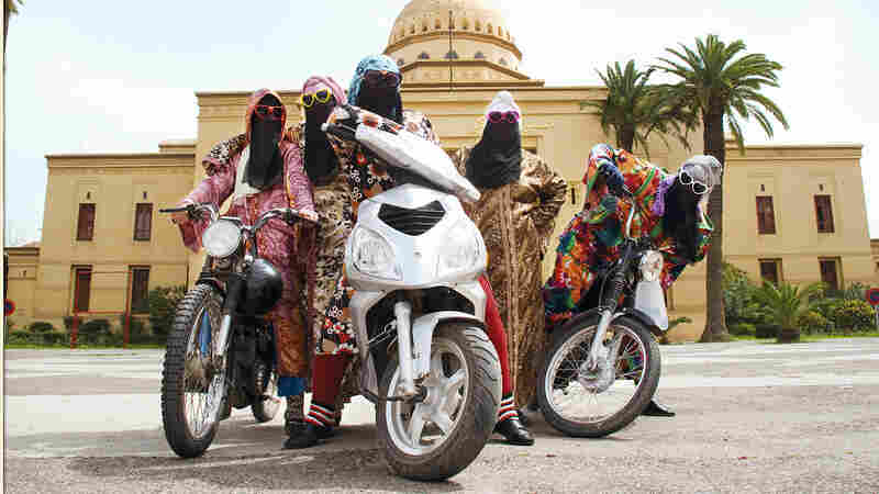 In Photos: Moroccan Motorcycle Mashup