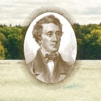 detail from cover of The Adventures of Henry David Thoreau