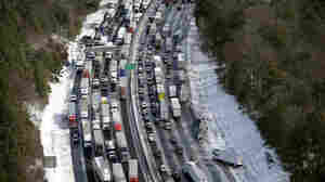 Avoid Atlanta Until Storm Passes, Governor Tells Truckers