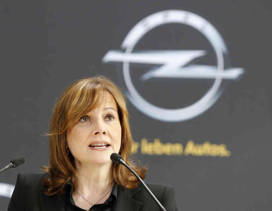 New CEO of General Motors Mary Barra.