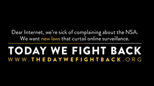 The Internet Flexes Political Muscle With Anti-NSA Protest