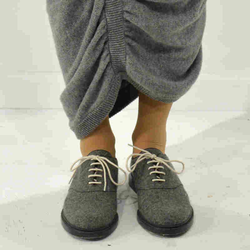 Sensible shoes — like the ones above from Band of Outsiders — are on display at this year's New York Fashion show.