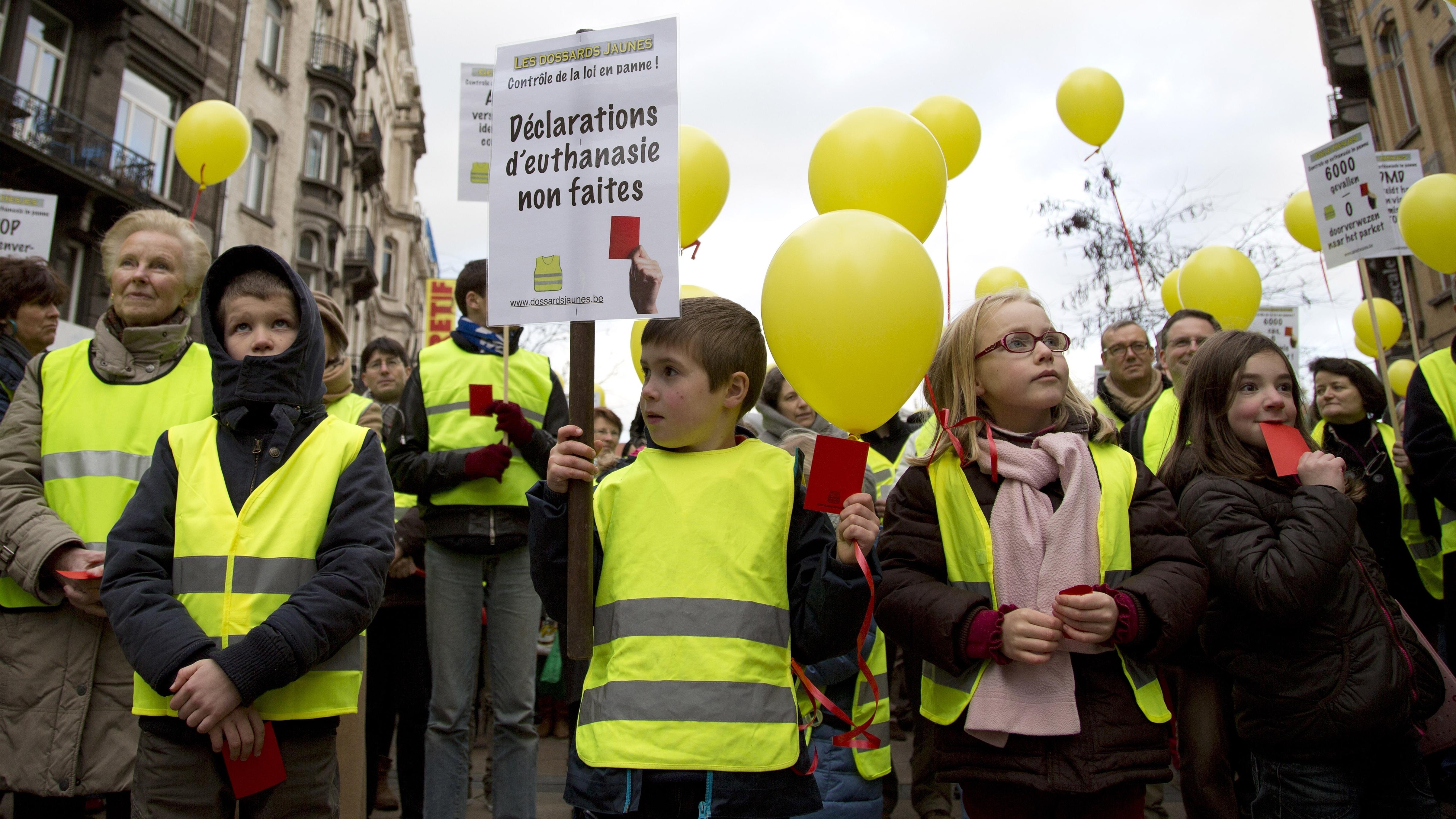 Belgian Proposal: Terminally Ill Kids Could Choose Euthanasia