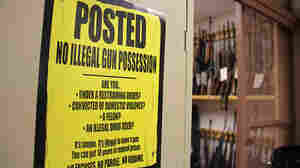 An evidence locker at the Vermont field office of the Bureau of Alcohol, Tobacco, Firearms and Explosives is filled with confiscated guns.