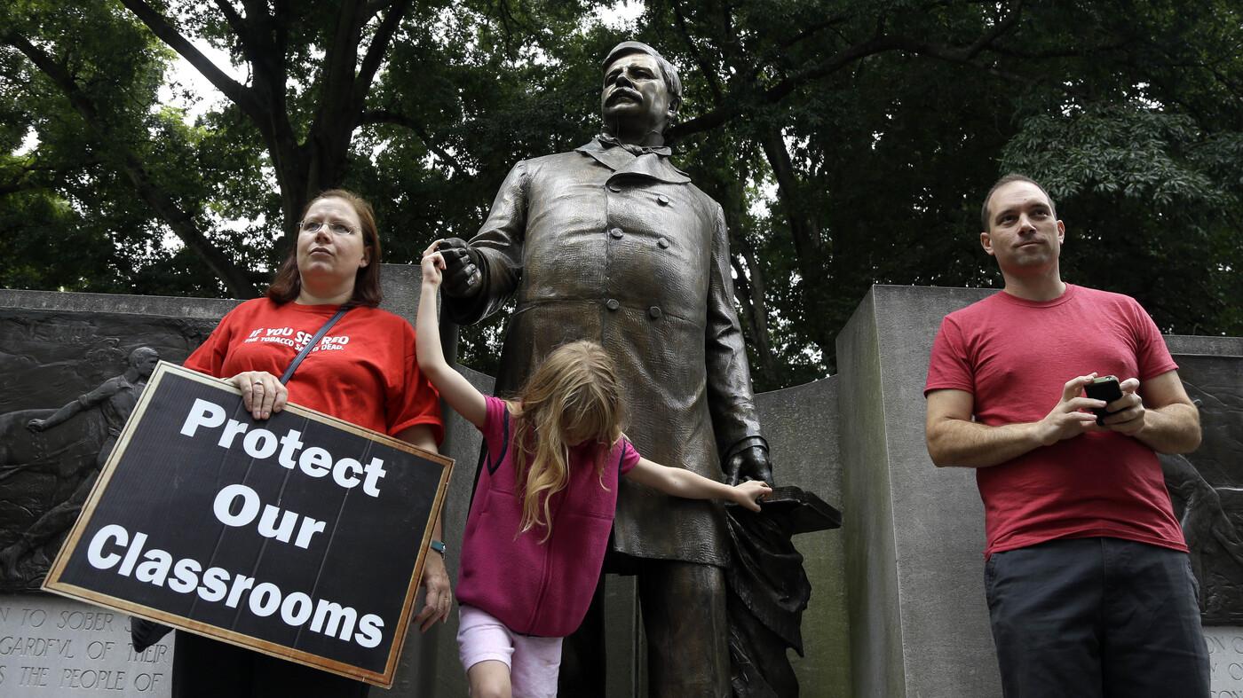 Pay Cuts, End Of Tenure Put North Carolina Teachers On