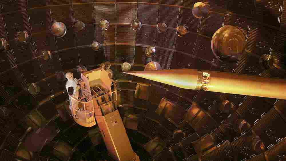 Scientists Say Their Giant Laser Has Produced Nuclear Fusion