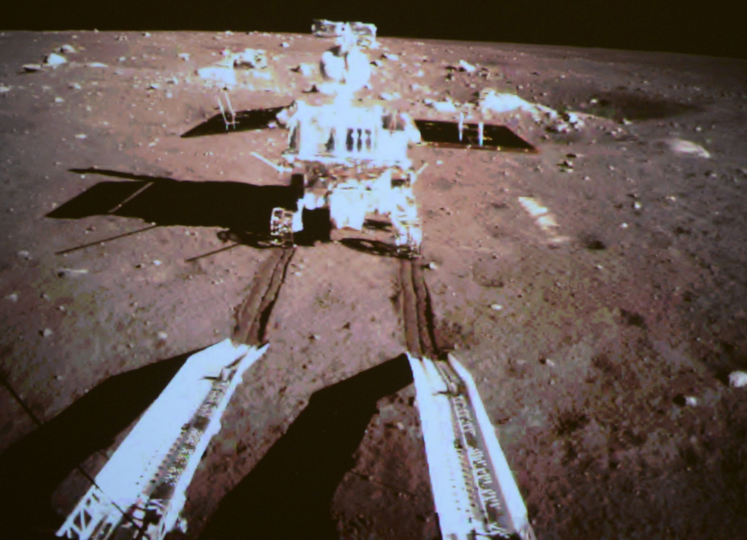 China's Moon Rover Wakes Up, But Isn't Out Of The Woods Yet