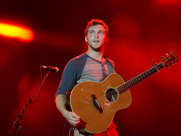 """American Idol winner Phillip Phillips, whose song, """"Gone, Gone, Gone,"""" went to No. 24 on the Billboard Hot 100. Each time it's played in public, the song's writers get a royalty, which is tracked and collected by ASCAP. Bigger hits usually translate into bigger checks."""