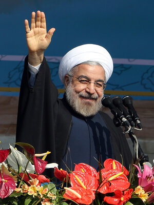 Iranian President Hassan Rouhani says better economic times are coming. Though there is more confidence in his economic team than that of his predecessor, very little has changed on the ground so far.