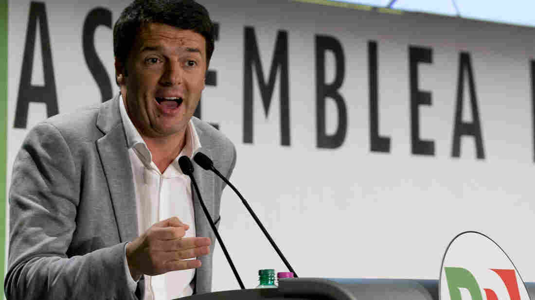 Florence Mayor Matteo Renzi of Italy's Democratic Party is next in line to be the country's prime minister. Enrico Letta is stepping down after a vote of no confidence.