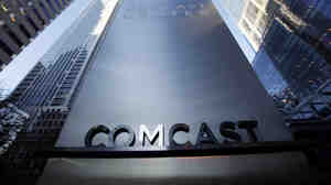 Comcast is the large