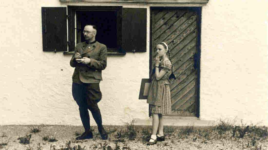 Nazi leader Heinrich Himmler and his daughter Gudrun. Vanessa Lapa, the granddaughter of Holocaust survivors, has made a documentary called The Decent One, based on Himmler's letters to his wife and other personal documents.
