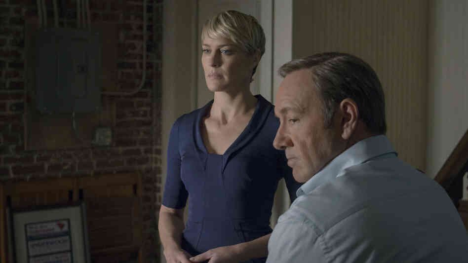 Robin Wright and Kevin Spacey play Claire and Francis Underwood in Netflix's House of Cards. When the second season is released on Friday, audiences can expect to see more ruthless behavior from these power-hungry characters — but are they antiheroes, or plain old villains?