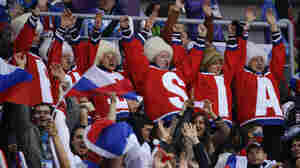 In Front Of A Home Crowd, Russia Has Hockey History On Its Mind