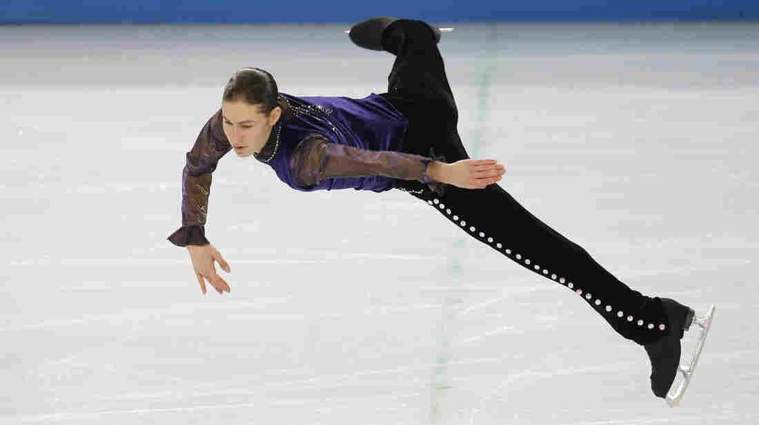Jason Brown skated to Prince during his short program Thursday.