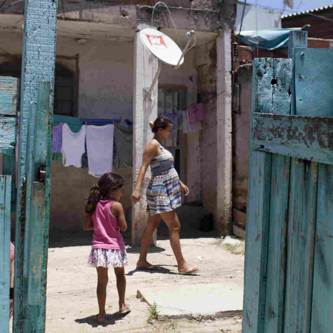 As Brazil Gears Up For Olympics, Some Poor Families Get Moved Out
