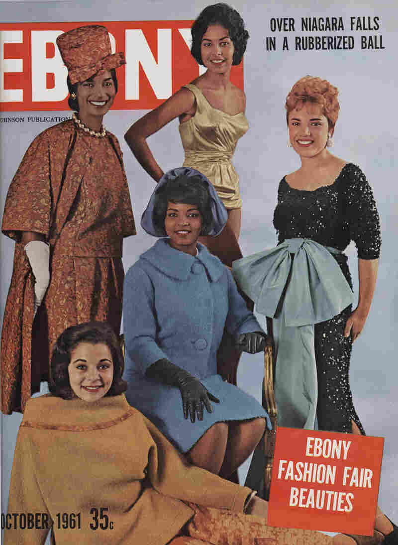 Cover of Ebony, October 1961.