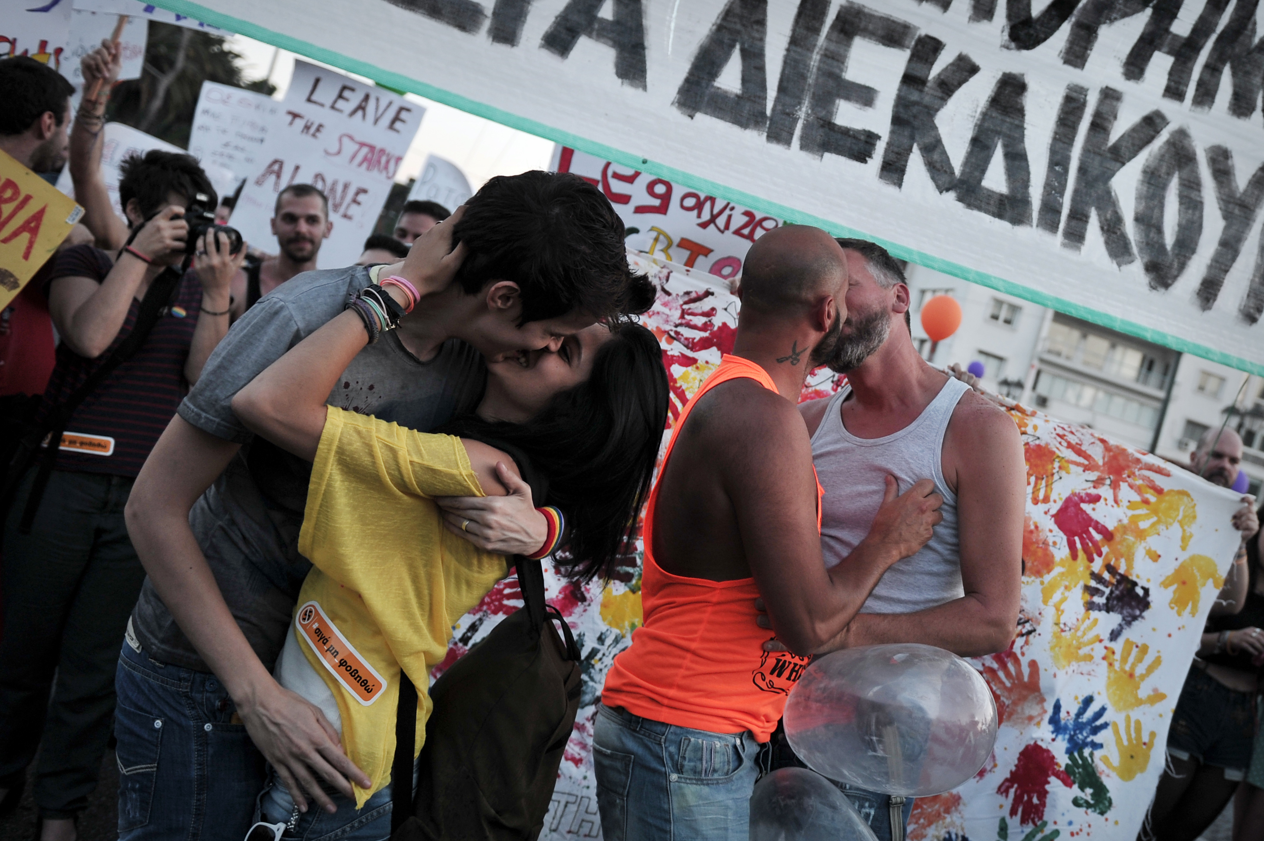 'Invisible' Same-Sex Couples Push For Civil Unions In Greece