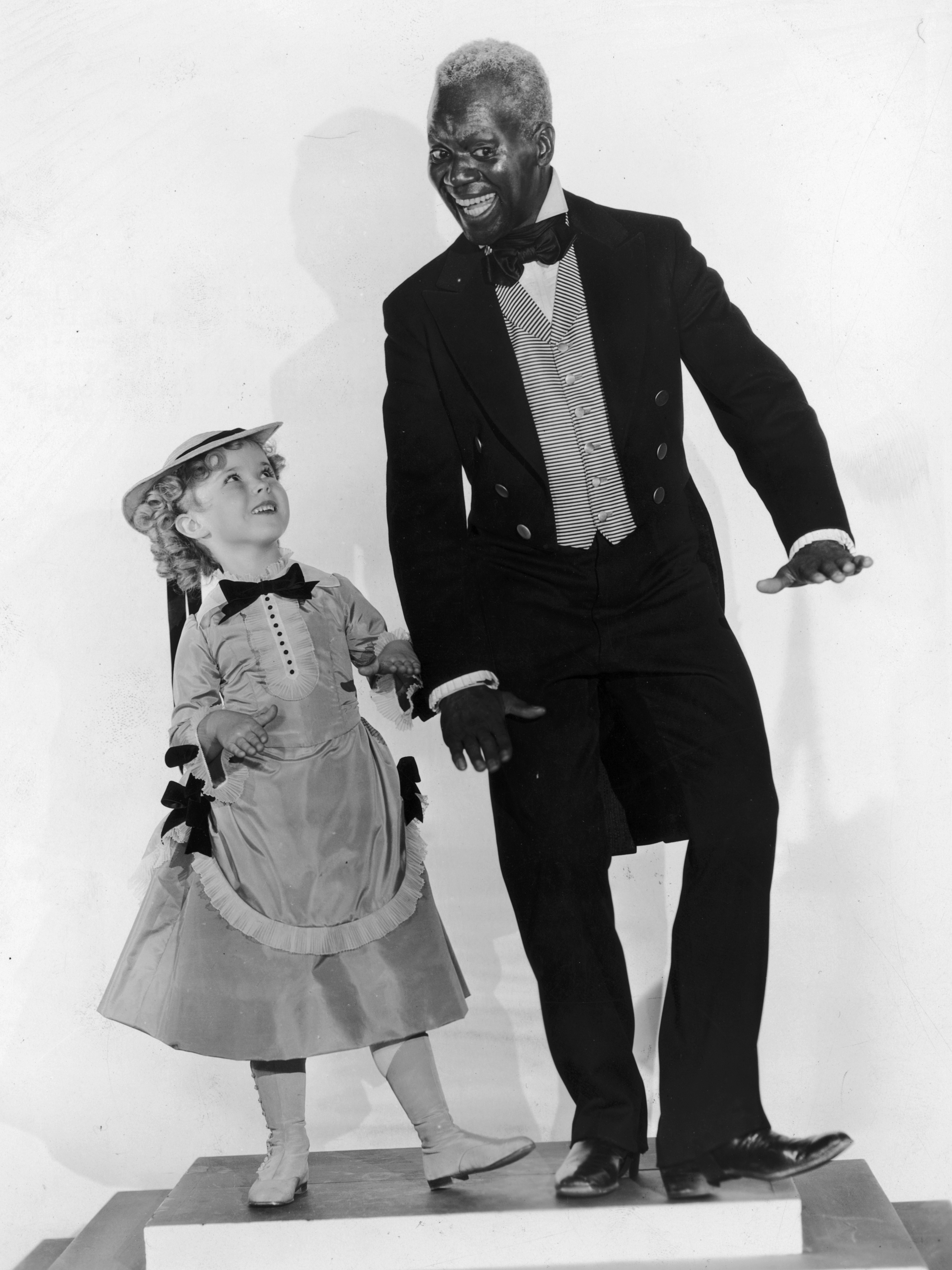 Shirley Temple And Bojangles Two Stars One Lifelong