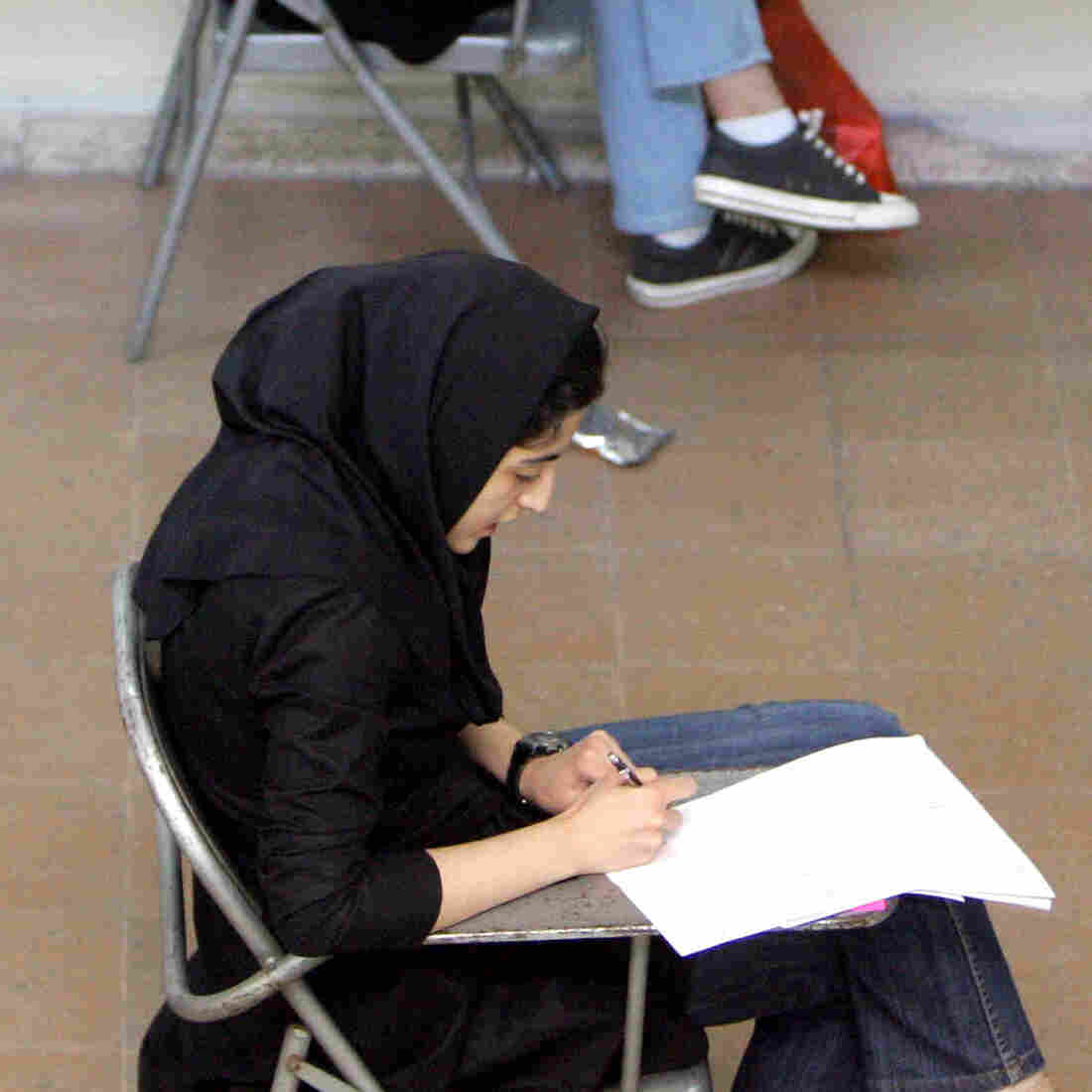 At Iranian Colleges, Some See Brighter Future In Another Country