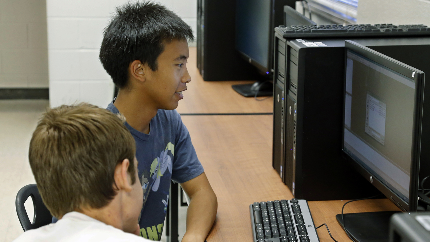 A Push To Boost Computer Science Learning Even At An Early Age