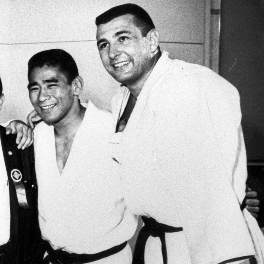 Ben Nighthorse Campbell (right) and fellow members of the 1964 U.S. Olympic Judo Team. Campbell later won election to the U.S. House and Senate from Colorado.
