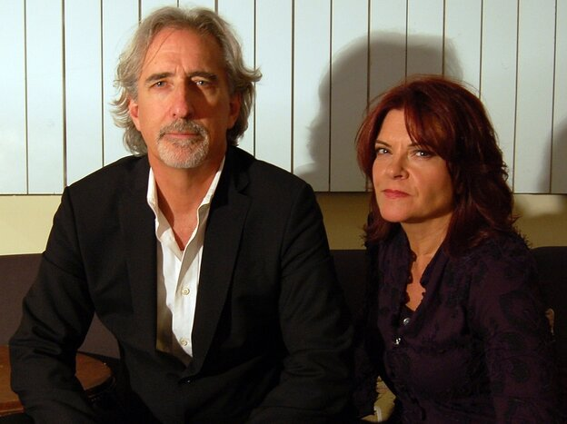 John Leventhal and Rosanne Cash.