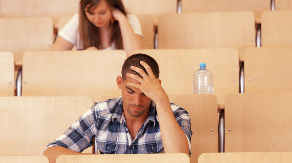 Standardized tests are an important consideration for admissions at many colleges and universities. But one new study shows that high school performance, not standardized test scores, is a better predictor of how students do in college. (Amriphoto/iStockphoto)