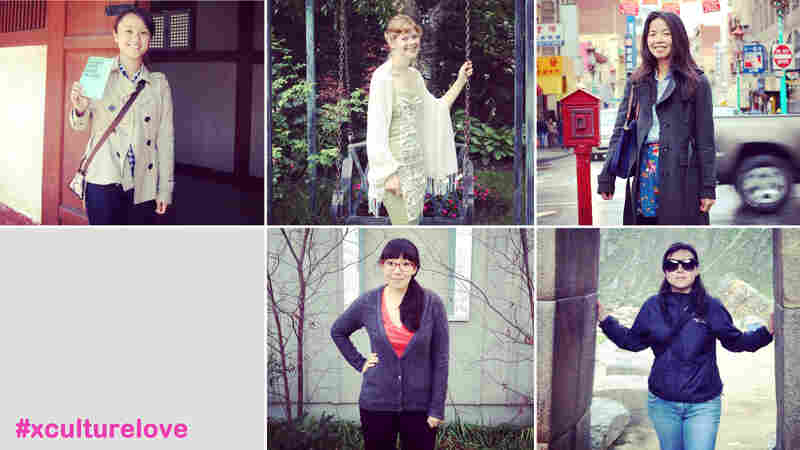 (From top left, clockwise) Aiko Loo, Laura Banish, Shu Ping Guan, Maria Ines Zamudio, Lizzie Chen.
