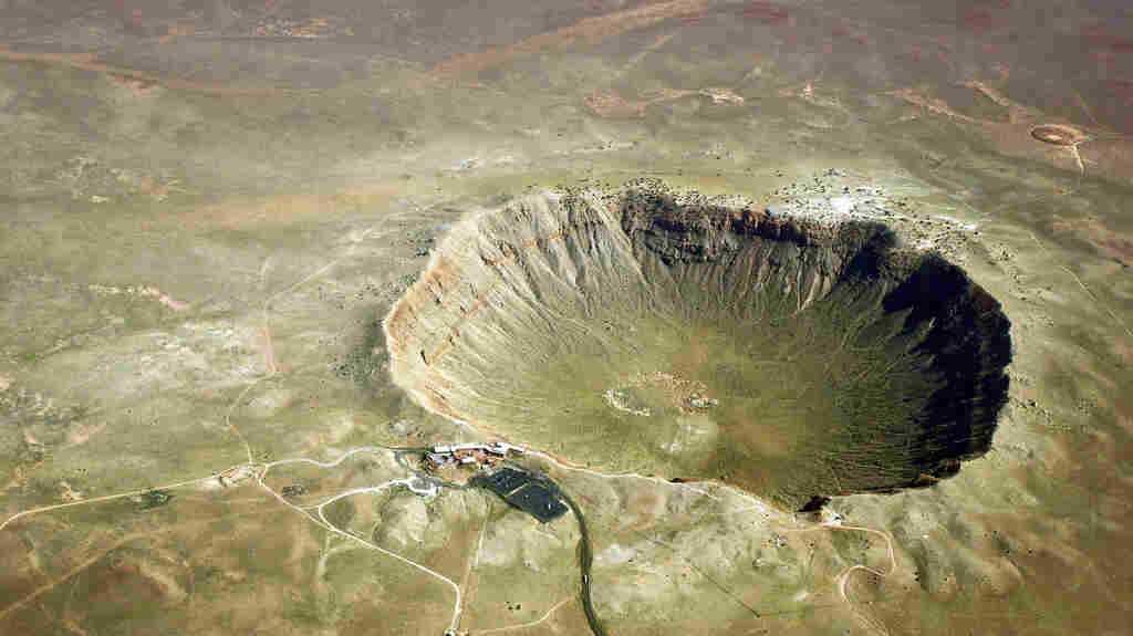 About 50,000 years ago, a meteorite struck earth east of present-day Flagstaff, leaving this crater as its calling card.