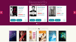 Swoon Reads, a new young adult romance imprint at Macmillan publishing, solicits manuscripts and invites users to read and rate them. The most popular manuscript gets a first print