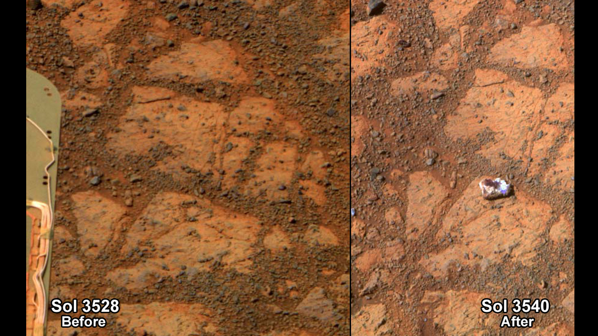 Mars 'Jelly Doughnut' Mystery Solved: It's Just A Rock, NASA Says