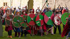 Warriors battle at the 2012 JORVIK Viking Festival. This year promises to be even fiercer, with the apocalypse looming.