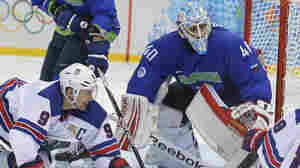U.S. Men's Hockey Beats Slovenia, Securing Spot In Quarterfinals
