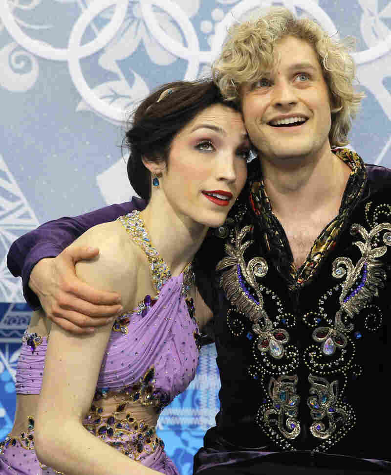 Meryl Davis and Charlie White of Team USA — the gold medalists in ice dancing at the Sochi Games.