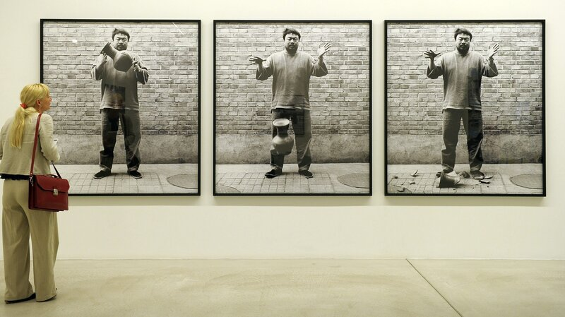 In Act Of Protest Ai Weiwei Vase Is Destroyed At Miami Museum The