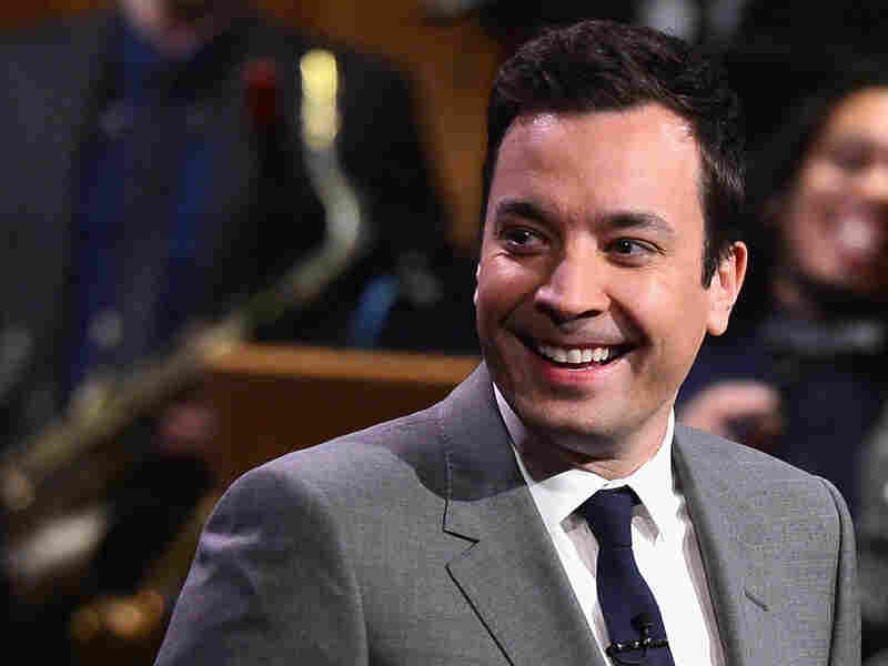 "Jimmy Fallon took over as host of The Tonight Show on Monday. ""I hope I do well,"" he told the audience. ""I hope that you enjoy this."""