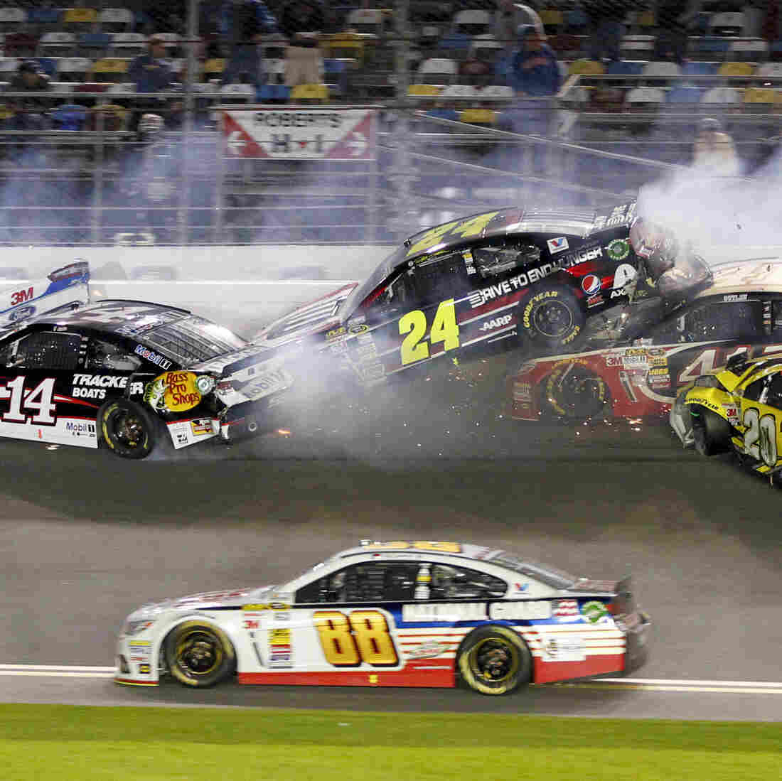 The wrecks are not enough of a draw, so NASCAR is changing its playoff points system to help increase viewership.