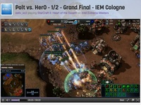 To promote the DVD and home media release of Ender's Game, a movie about fighting aliens, Lionsgate Films decided to sponsor a tournament for StarCraft II, a space strategy game where players can fight as or against aliens.