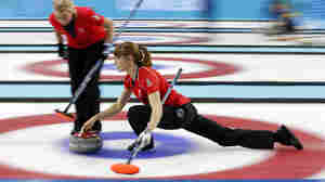Olympic Photo Of The Day: A Curling Blur