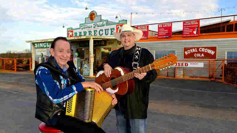 Flaco Jiménez and Max Baca.
