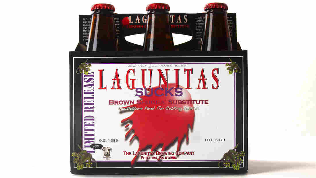 Lagunitas Brewing Company's owners are nervous that the Russian River water they currently use to make beer could run out in the drought that's hammering California.