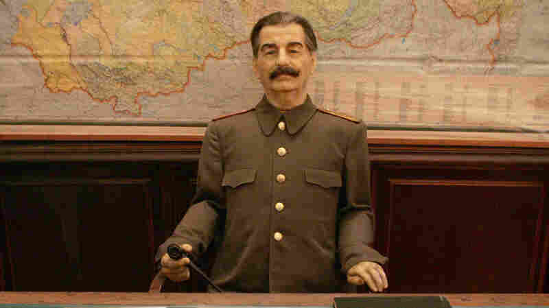 A wax sculpture of Stalin sits behind the desk he used at the dacha. From the time he first began to visit the villa, Stalin was signing death warrants for his rivals — and living in fear of retribution.