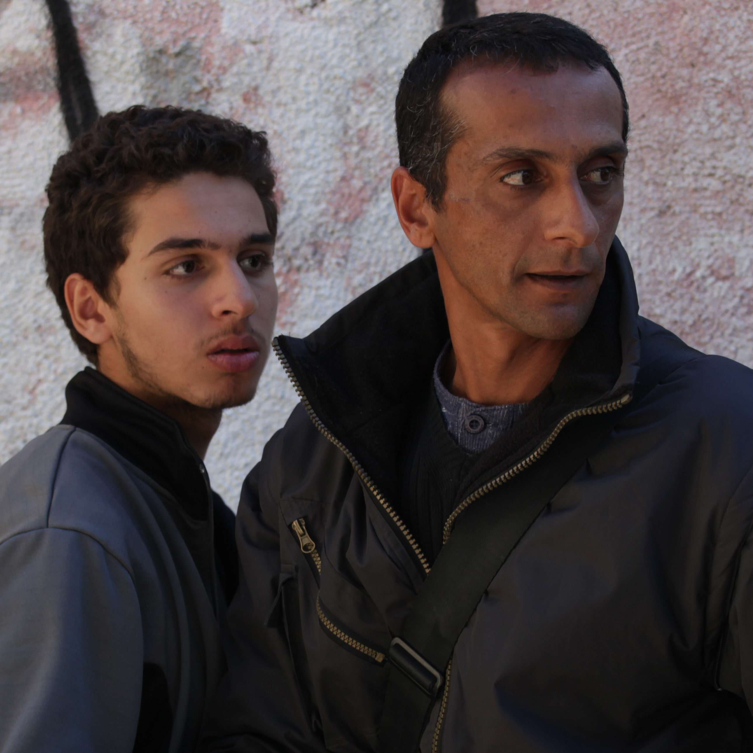 Yuval Adler's Bethlehem tells the story of Sanfur (Shadi Mar'i, left), the younger brother of a wanted Palestinian militant -- and secret informant to Razi (Tsahi Halevy), the Israeli agent who wants that brother dead.